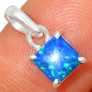 Fire Opal 925 Sterling Silver Pendant XGB Jewelry BP41976