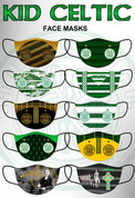 10 KID MASKS CELTIC