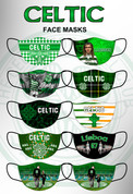NEW NEW NEW 10 MASKS CELTIC