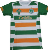 Embroidered Green and Orange CELTIC