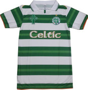 Embroidered New Green Celtic home jersey