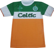 Embroidered Celtic Green And Orange