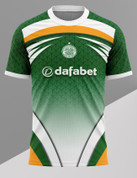 CELTIC WHITE AND GREEN #579