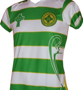 LADIES GREEN AND WHITE (celtic ladies 3d)