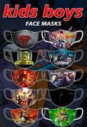 kids boys face masks #01