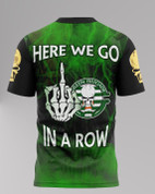green brigade SHIRT HERE WE GO 10 IN A ROW - 840