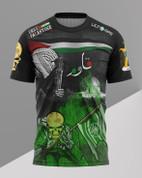 GREEN BRIGADE AND palestine   - 841
