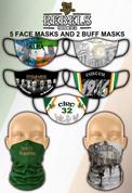 REBELS FACE MASKS AND BUFF MASK #SET01