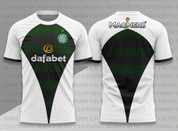 CELTIC GREEN AND WHITE #865