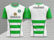 CELTIC GREEN AND WHITE #868