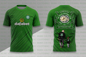 CELTIC SHIRT GREEN FATHER TO SON #943
