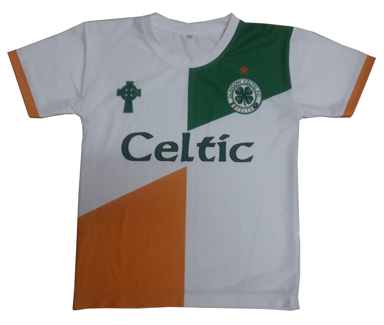 7bbf074b8 New Tri-Color Celtic Jersey for Kids - irish and celtic clothing