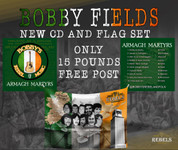 BOBBY FIELDS NEW CD AND FREE FLAG SET #1195