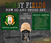 BOBBY FIELDS NEW CD AND FREE SNOOD SET #1196