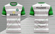 celtic white and grey green sleeves #1215