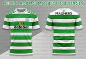 CELTIC ADIDAS JAGGED EDGE JERSEY #1263
