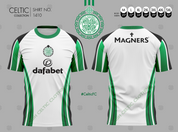 CELTIC TOUCH WHITE WITH SPONSOR #1410