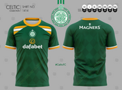 CELTIC TRICOLOR GREEN WITH SPONSOR #1414