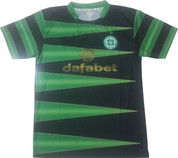 BLACK AND GREEN CELTIC JERSEY