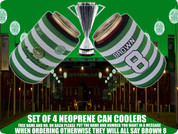 HOME SHIRT CELTIC can COOLERS(4PCS) FREE NAME AND NUMBER ADD IN BOX BELOW,IF NOT ALL WILL SAY BROWN 8 ..