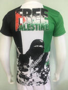 FREE GAZA JERSEY (all profits from this jersey will go to Ai-Amal Institute for Orphans (in Palestine) Please only purchase from website to enable us to keep track of sales. Free Palestine)