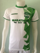 Hibs white green diamonds #6