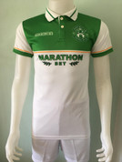 Hibs white polo shirt #7