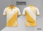 phoenix 100% polyester polo shirt #001
