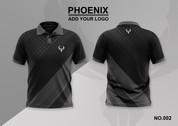 phoenix 100% polyester polo shirt #002