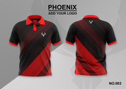 phoenix 100% polyester polo shirt #003