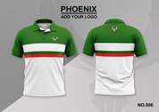 phoenix 100% polyester polo shirt #006