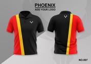 phoenix 100% polyester polo shirt #007