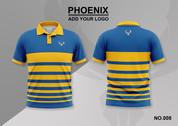 phoenix 100% polyester polo shirt #008