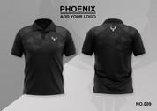 phoenix 100% polyester polo shirt #009