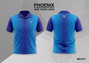 phoenix 100% polyester polo shirt #011