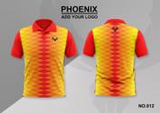 phoenix 100% polyester polo shirt #012