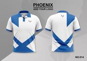 phoenix 100% polyester polo shirt #014