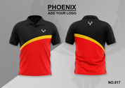 phoenix 100% polyester polo shirt #017