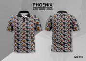 phoenix 100% polyester polo shirt #020