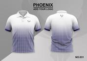 phoenix 100% polyester polo shirt #031