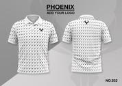 phoenix 100% polyester polo shirt #032