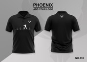 phoenix 100% polyester polo shirt #033