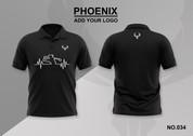 phoenix 100% polyester polo shirt #034