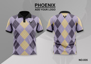 phoenix 100% polyester polo shirt #035