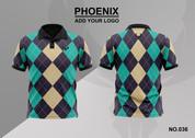 phoenix 100% polyester polo shirt #036