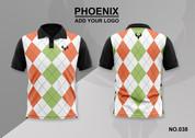 phoenix 100% polyester polo shirt #038