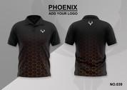 phoenix 100% polyester polo shirt #039