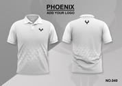 phoenix 100% polyester polo shirt #040