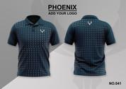phoenix 100% polyester polo shirt #041