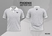 phoenix 100% polyester polo shirt #042